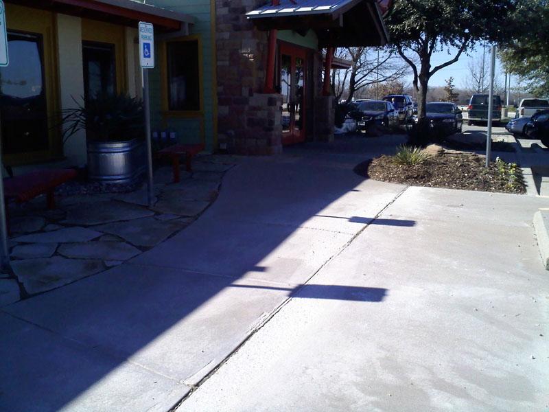 Concrete Sidewalk Grinding : Walkway grinding co north carolina us verses them